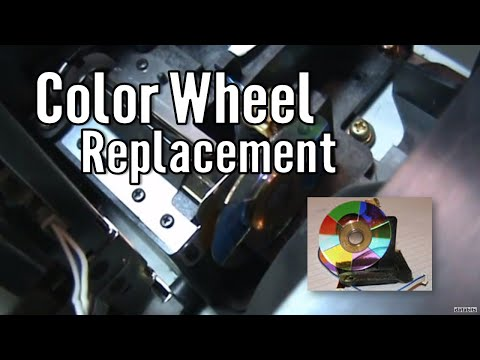 how to replace a samsung dlp color wheel hlm507w bp96 00250a part 1 rh youtube com