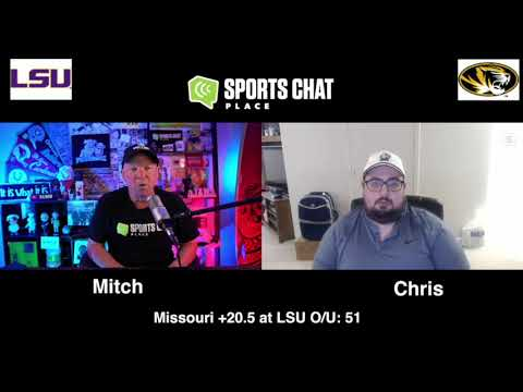 Missouri at LSU College Football Picks & Prediction Saturday 10/10/20   Sports Chat Place