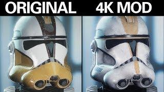 SWBFII Graphics Overhaul: Accurate Clone Legions [4K RETEXTURE MOD]