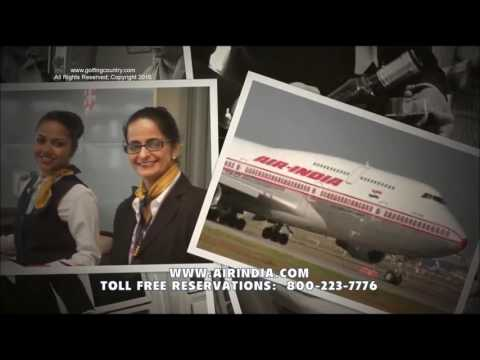 AIR INDIA, GOLFING COUNTRY TV