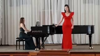 Юлия Щёкина - Римский-Корсаков ария Любаши, Гуно