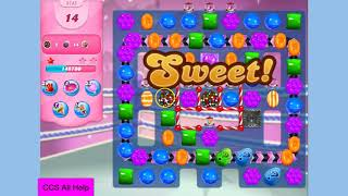 Candy Crush Saga Level 3745 NO BOOSTERS in 16 moves