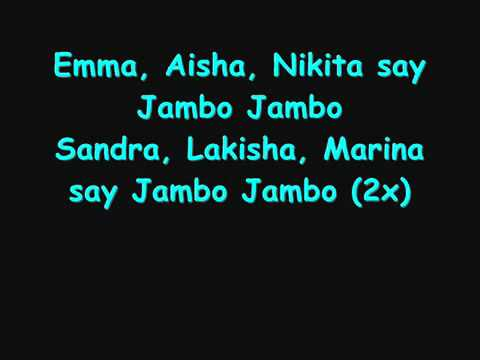 Mohombi - Say Jambo Lyrics.flv