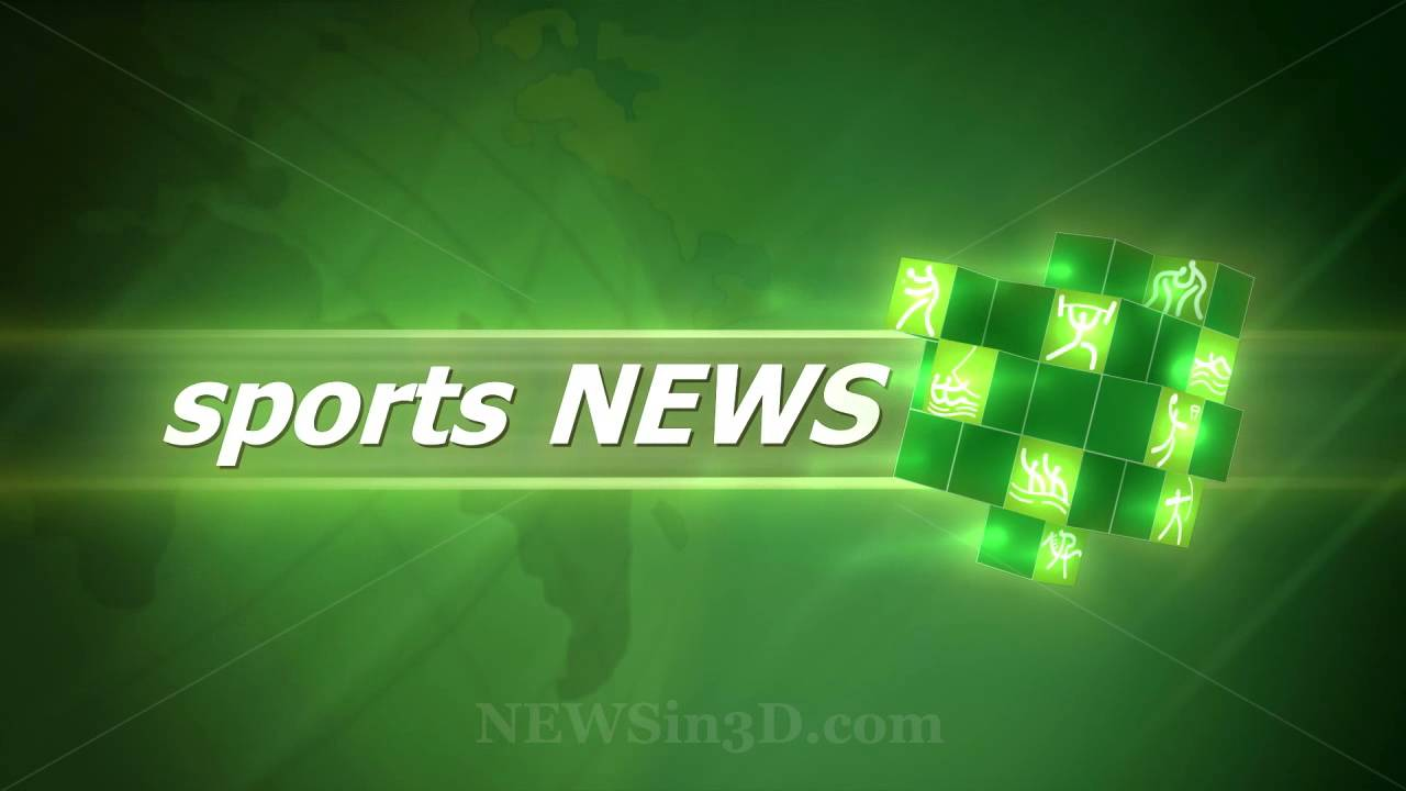 Sports News Animated Opening - YouTube