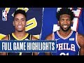 PACERS at 76ERS | FULL GAME HIGHLIGHTS | November 30, 2019