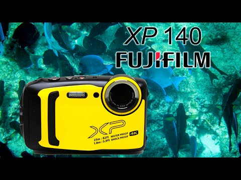 FujiFilm FinePix XP140 Unboxing and Review