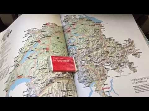 SWISS Flight Zurich - Valencia 26 August 2016