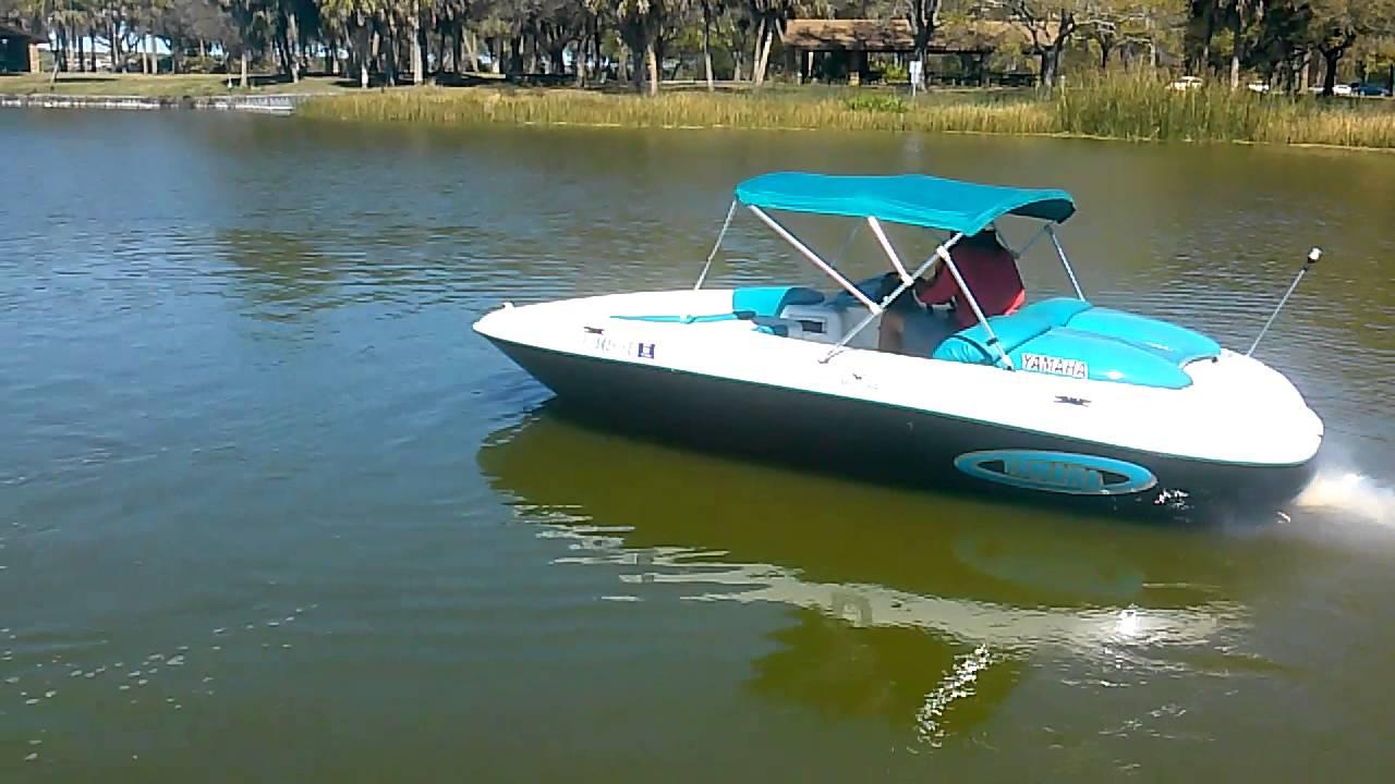 Jet Boat Yamaha Exciter