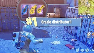 THANK YOU DISTRIBUTORS! Royal Victory in Single: Fortnite Battle Royale ITA!
