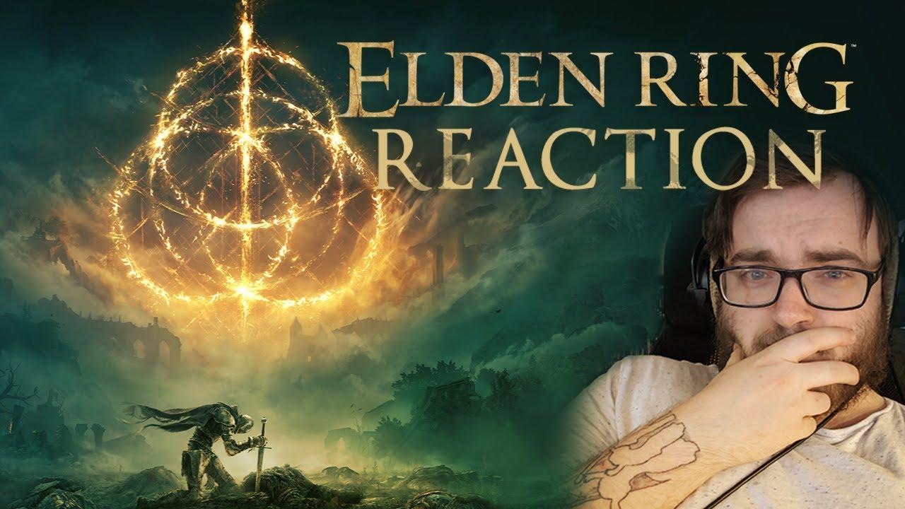ELDEN RING 2021 Trailer Reaction!