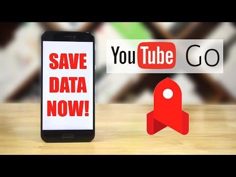 YouTube GO - SAVE DATA NOW!