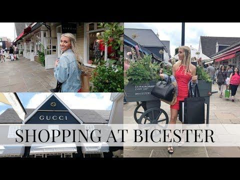 LUXURY SHOPPING TRIP, BICESTER VILLAGE HAUL SUMMER 2017 | Scarlett London