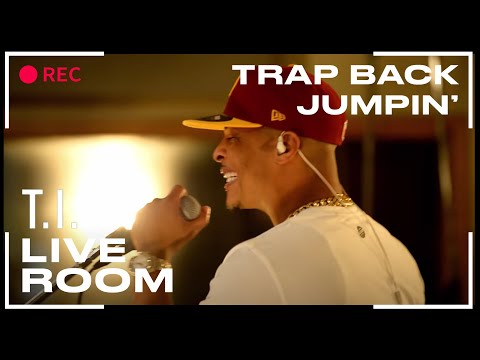 "T.I. - ""Trap Back Jumpin'"" captured from The Live Room"