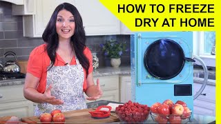 How to Freeze Dry at Home - Freeze Drying Overview
