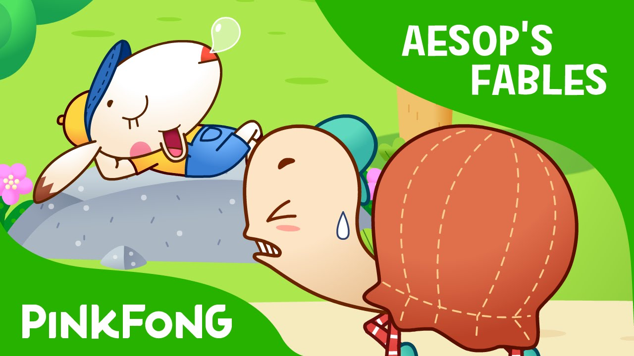 The Tortoise And The Hare Aesop S Fables Pinkfong Story Time