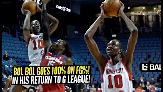 Bol Bol DOESN'T MISS In His Return To G League vs Agua Caliente Clippers!!