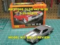 AMT 1969 OLDS 442 W-30 1/25 MODEL KIT BUILD REVIEW AMT1105