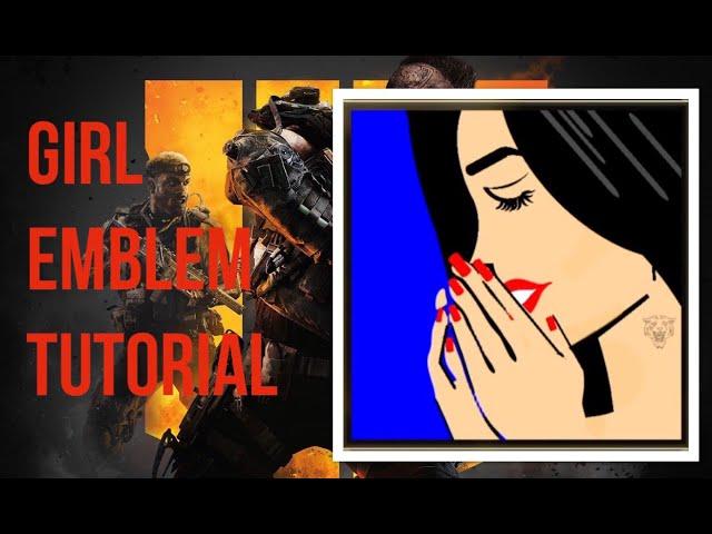 EMBLEM TUTORIAL GIRL - COD BLACK OPS 4