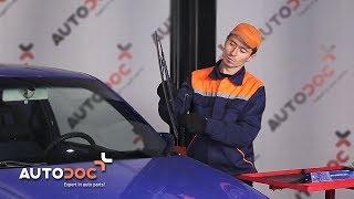 Como trocar escovas do limpa vidros dianteiros VW LUPO TUTORIAL | AUTODOC