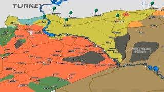 26 января 2018. Военная обстановка в Сирии. Протурецкие силы готовы начать операцию против сил США.