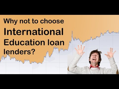 International education loan lenders vs Indian Banks - Whom