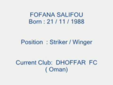 Salifou fofana striker