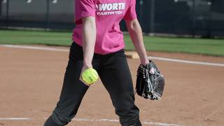Softball pitching tips with Amanda Scarborough