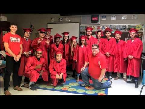 Graduating Union Seniors Inspire Briarglen Elementary Students