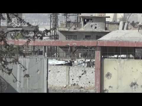 Террористы в Сирии стреляют из музейной пушки XIX века