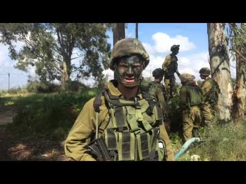 IDF combat intelligence soldier discusses army life