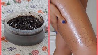 ♡DIY : exfoliant anti-cellulite au café♡