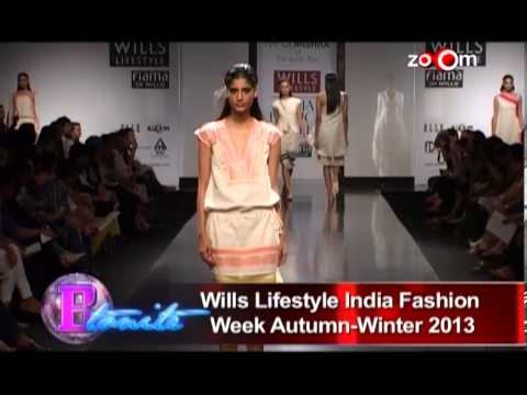 Wills Lifestyle India Fashion Week Autumn-Winter 2013
