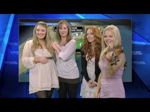 Celtic Woman on Weather Channel