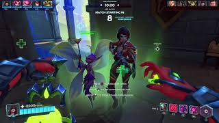32 minutes of paladins with my focused homegurl