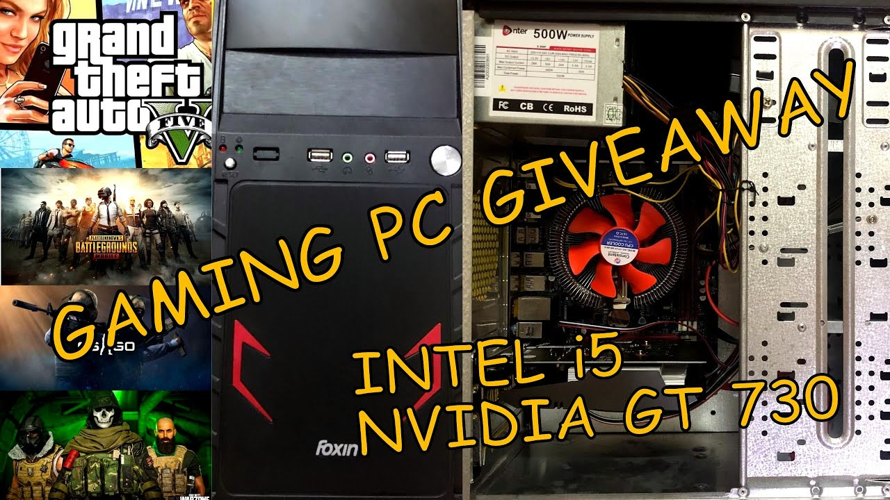 Download 🔥🔥 Gaming PC Giveaway 🔥🔥& How to build cheap gaming PC in 2020