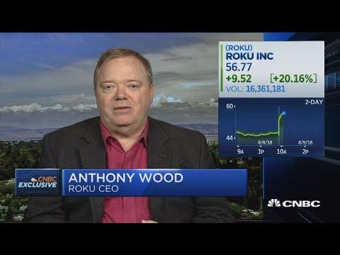 Roku CEO on earnings beat, growing ad revenue