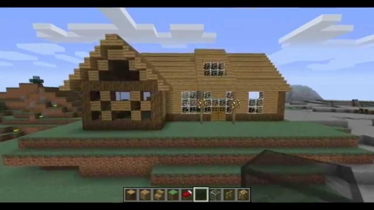 astuces et conseils pour construire une maison sur minecraft ep1 youtube. Black Bedroom Furniture Sets. Home Design Ideas