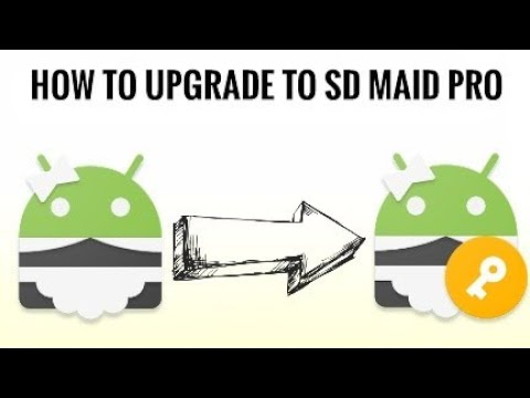 Upgrade to SD Maid pro for free - YouTube