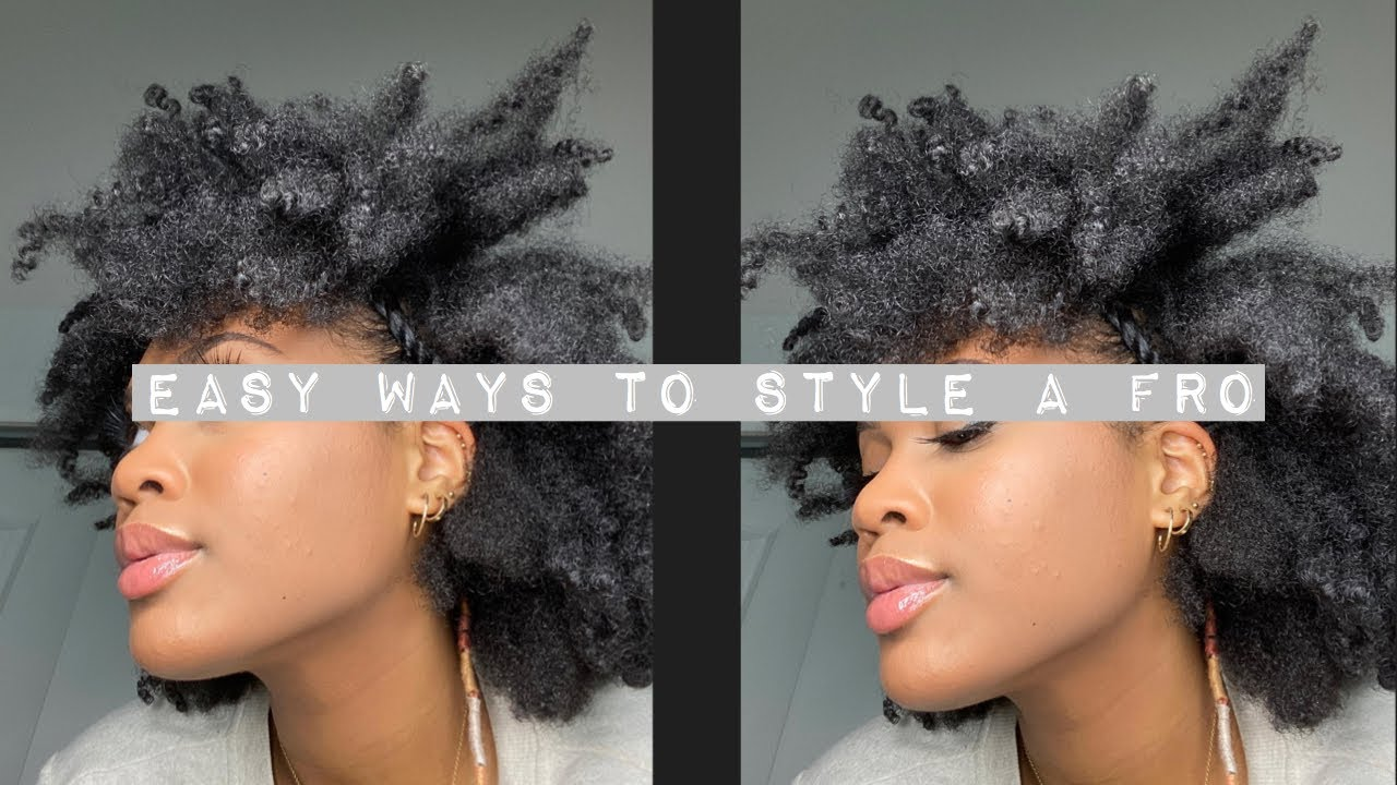 8 Easy Ways to Style a Fro