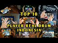 TOP 10 PLAYER REAL DRUM INDONESIA Part 1