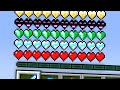 Minecraft, But With Custom Hearts..