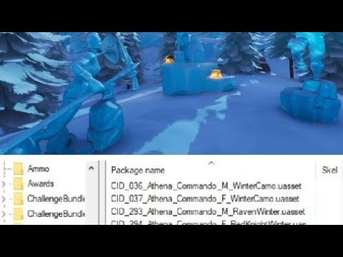 Leaked Red Knight Love Ranger And Raven Will Have Ice Snow Winter