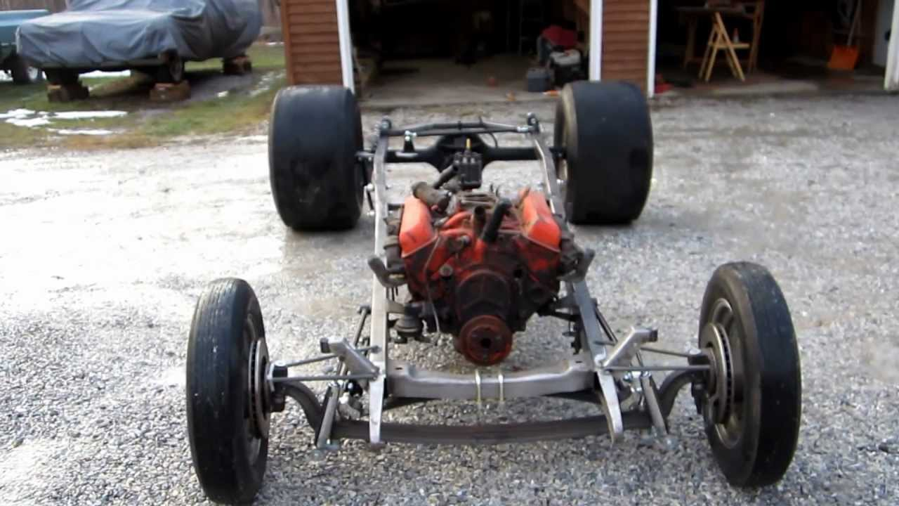 1930 ford coupe rolling chassis early built - YouTube