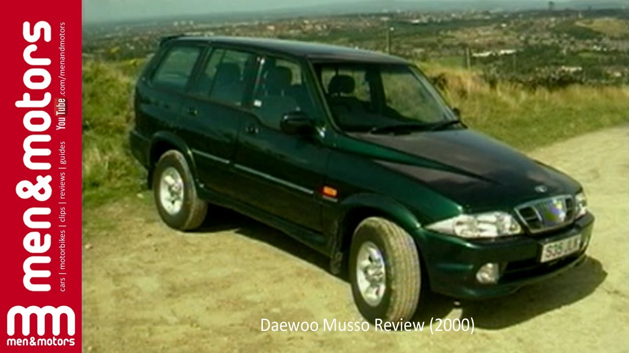 Daewoo Musso Review (2000) - YouTube