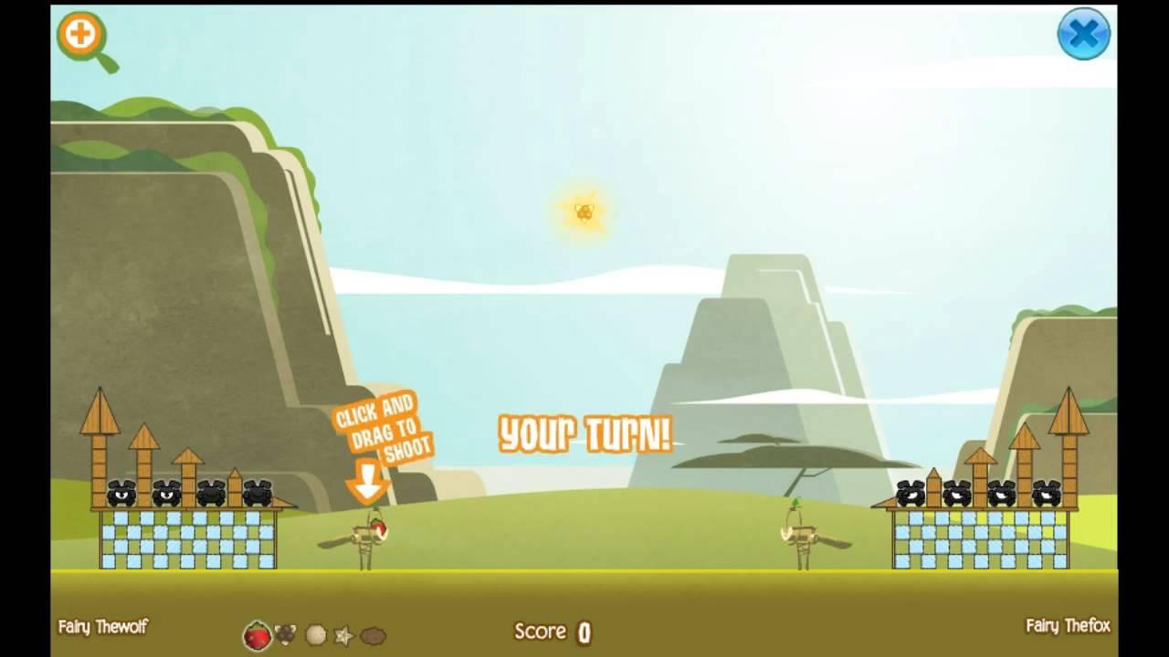 Fruit jam game - Animal Jam Olympics Ep 1 Fruit Slinger