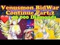 Digital World/Digital Master Digimon Continue Venusmon BidWar my Rank Drop!! Bye 16.000 D