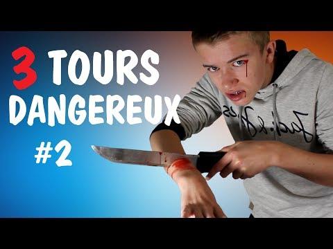 3 TOURS DE MAGIE DANGEREUX ! #2 (Magie Expliquée)