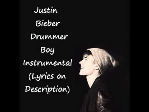 Justin Bieber - Drummer Boy Instrumental (Lyrics on description)