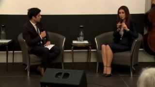 Khatera Yusufi im Dialog mit Jaafar Abdul Karim