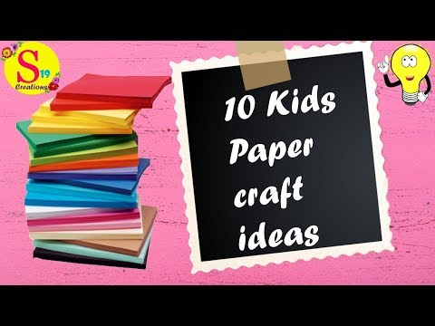 10-adorable-paper-craft-ideas-for-kids-|-fun-crafts-for-kids-to-do-at-home-|